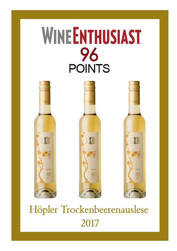 TBA 96 points Wine Enthusiast